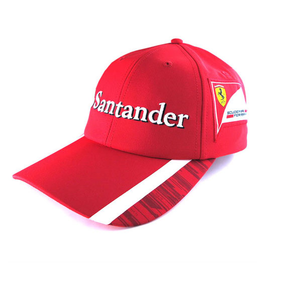 snapback rosso hat red for accessories men puma lyst fitted first ferrari corsa in