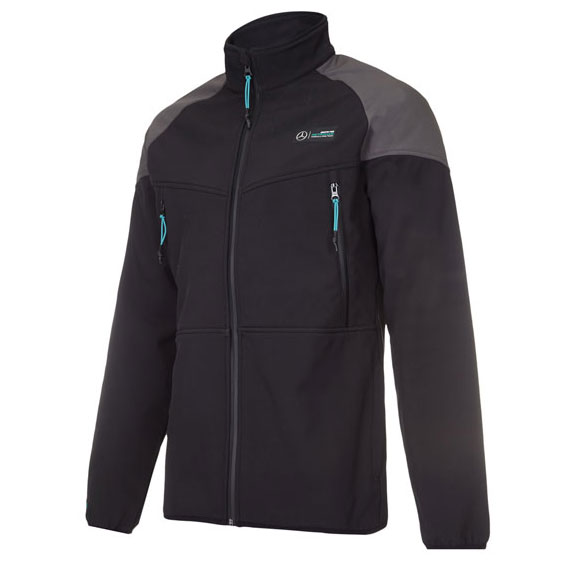 mercedes amg petronas mens team softshell jacket. Black Bedroom Furniture Sets. Home Design Ideas