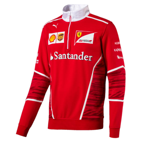 10e0d57471a9 SCUDERIA FERRARI MENS TEAM HALF ZIP FLEECE 2017.  SCUDERIA FERRARI MENS TEAM HALF ZIP FLEECE 2017 BV.  SCUDERIA FERRARI MENS TEAM HALF ZIP FLEECE 2017