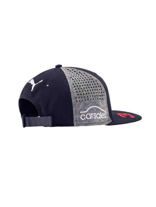 ae4c6313136 ASTON MARTIN RED BULL RACING ADULTS REPLICA DANIEL RICCIARDO FLAT PEAK CAP