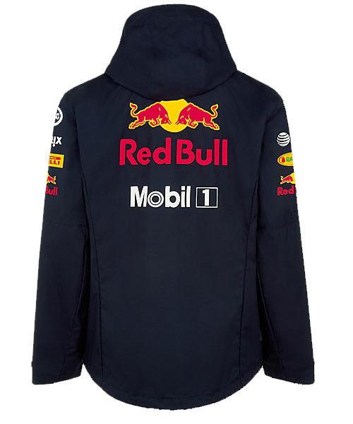 Aston Martin Red Bull Racing Mens Team Rain Jacket