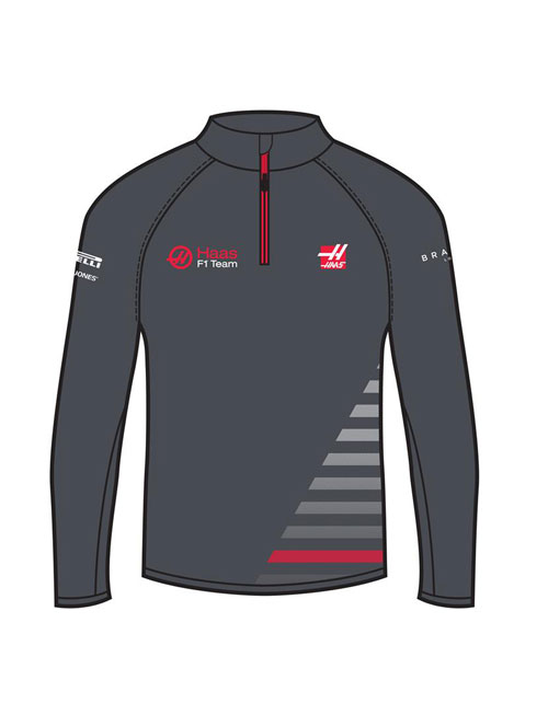 191681018150_HAAS_F1_HALF_ZIP_SWEAT
