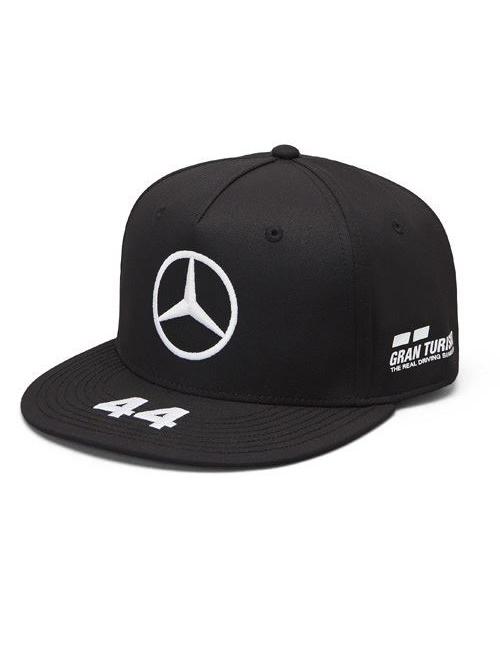 141191045100000_MAMGP_LEWIS_DRIVER_FLATPEAK_CAP_BLACK