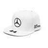 141191045200000_MAMGP_LEWIS_DRIVER_FLATPEAK_CAP_WHITE