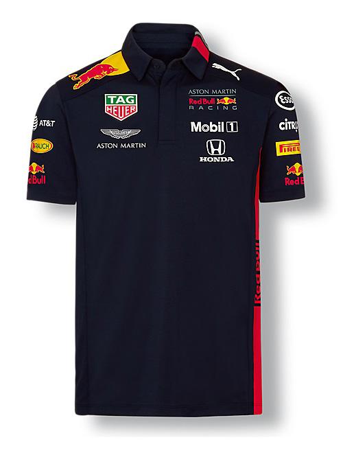 red bull racing team polo shirt