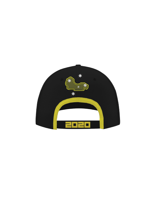 AGP20H-025_AGP_ADULTS_BASEBALL_CAP_BLACK_YELLOW_BV