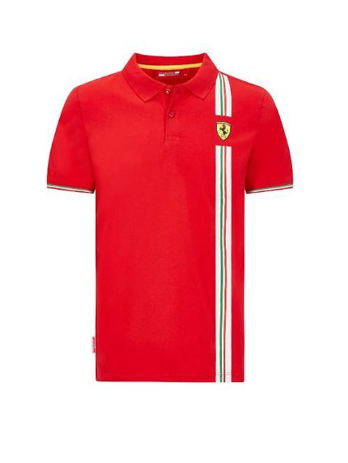 130101068600_FERRARI_FW_MENS_ITALIAN_FLAG_POLO_RED