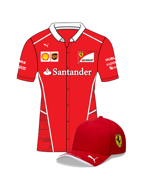 FERRARI-TEAM-SHIRT-CAP-BUNDLE-2