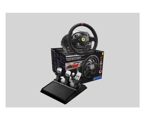 Next Level Racing F-GT Formula & GT Simulator Cockpit + Thrustmaster T300 Ferrari Integral Racing Wheel Alcantara Edition – image 2