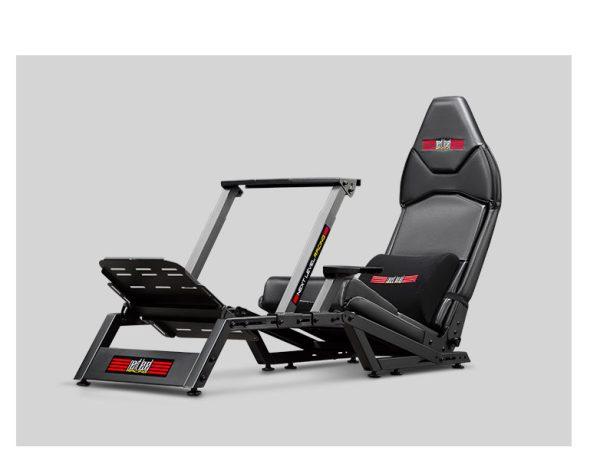 Next Level Racing F-GT Formula & GT Simulator Cockpit + Thrustmaster T300 Ferrari Integral Racing Wheel Alcantara Edition – image 3