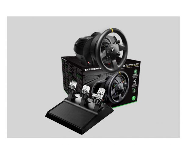 Next Level Racing F-GT Formula & GT Simulator Cockpit + Thrustmaster TX Racing Wheel Leather Edition – image 2